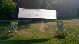 Open lacrosse clinics at Stary Browar
