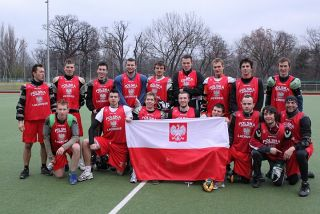Team Poland on the training camp in Vienna